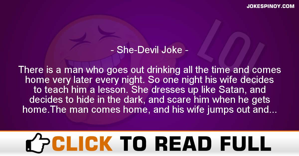 She-Devil Joke