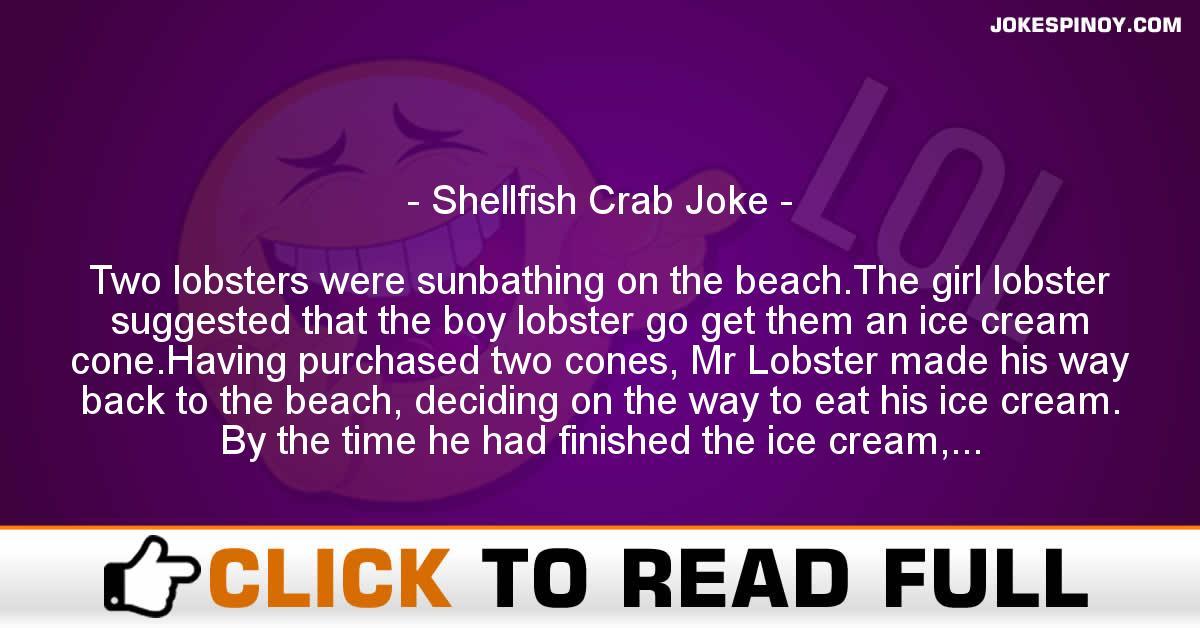 Shellfish Crab Joke