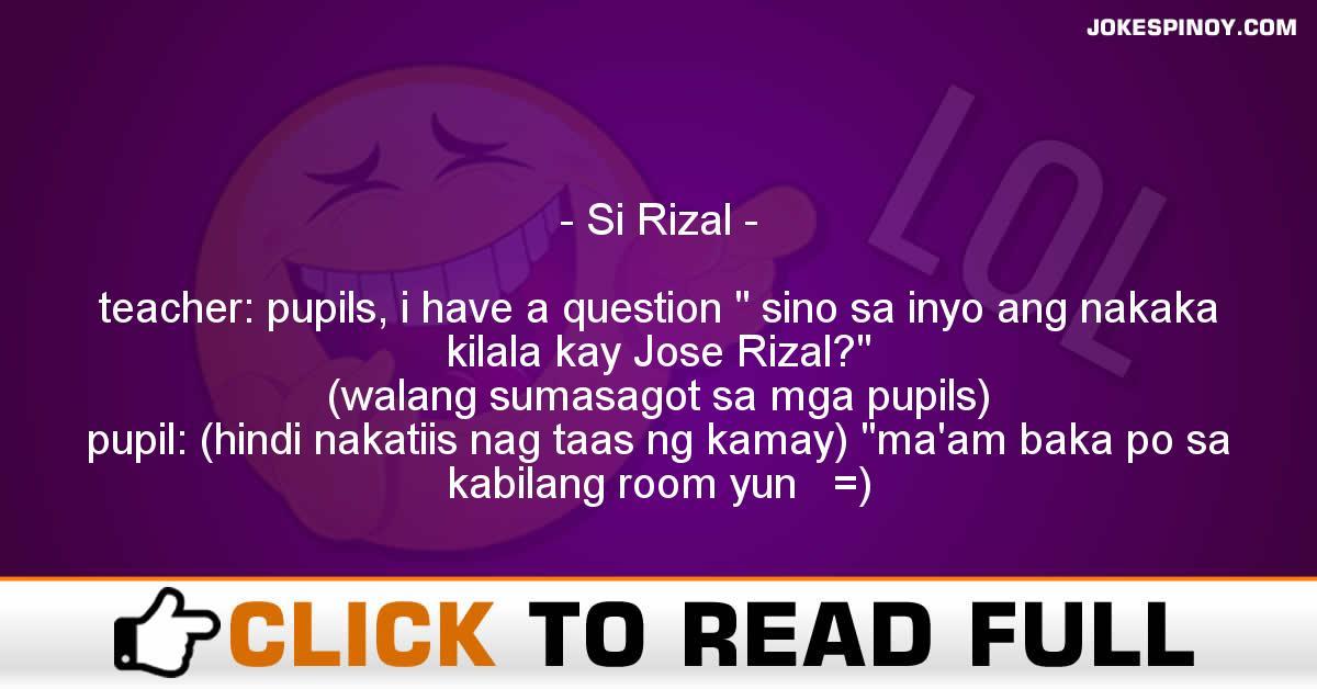 Si Rizal