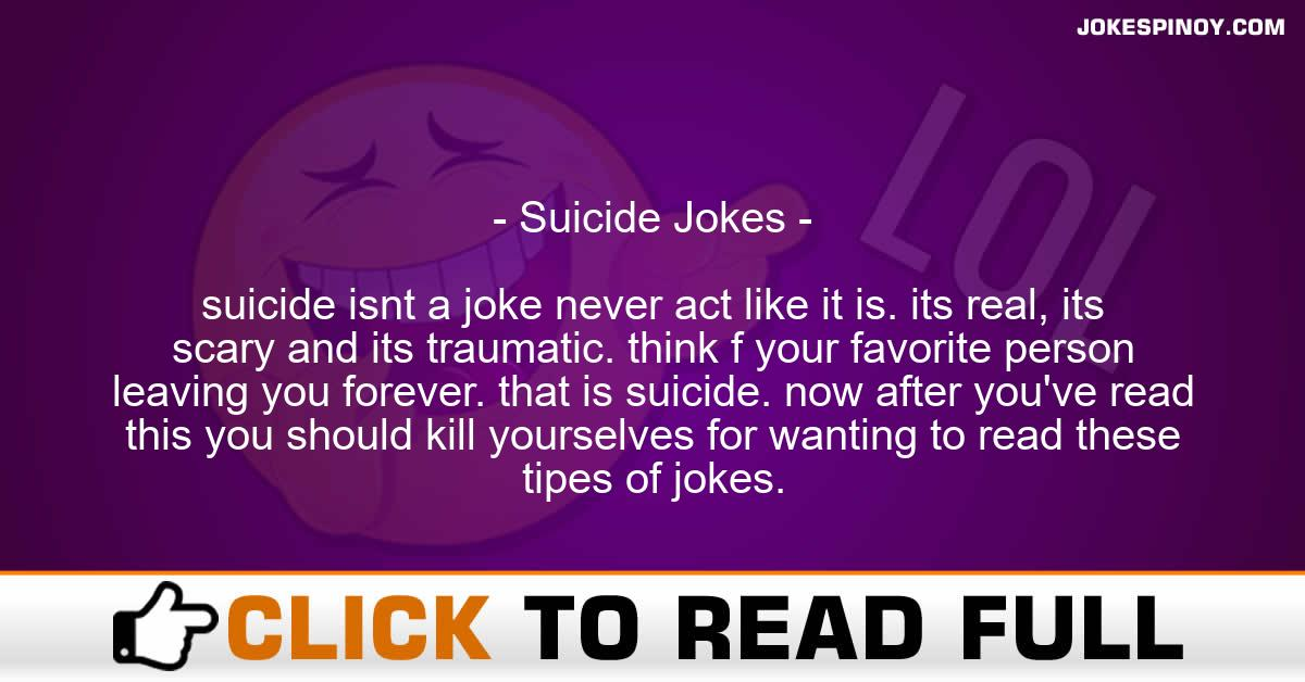 Suicide Jokes