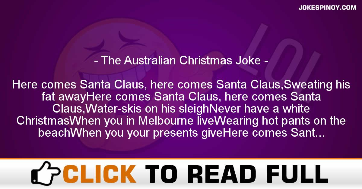 The Australian Christmas Joke