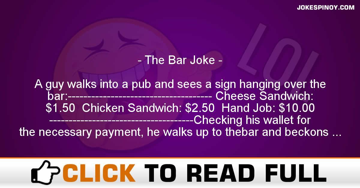 The Bar Joke