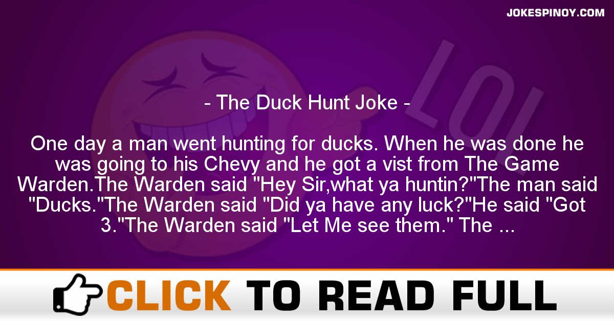 The Duck Hunt Joke