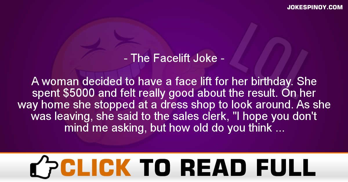 The Facelift Joke
