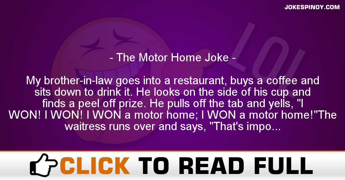 The Motor Home Joke