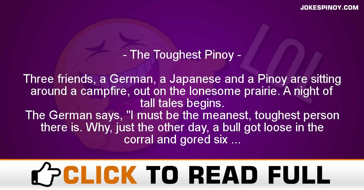 The Toughest Pinoy