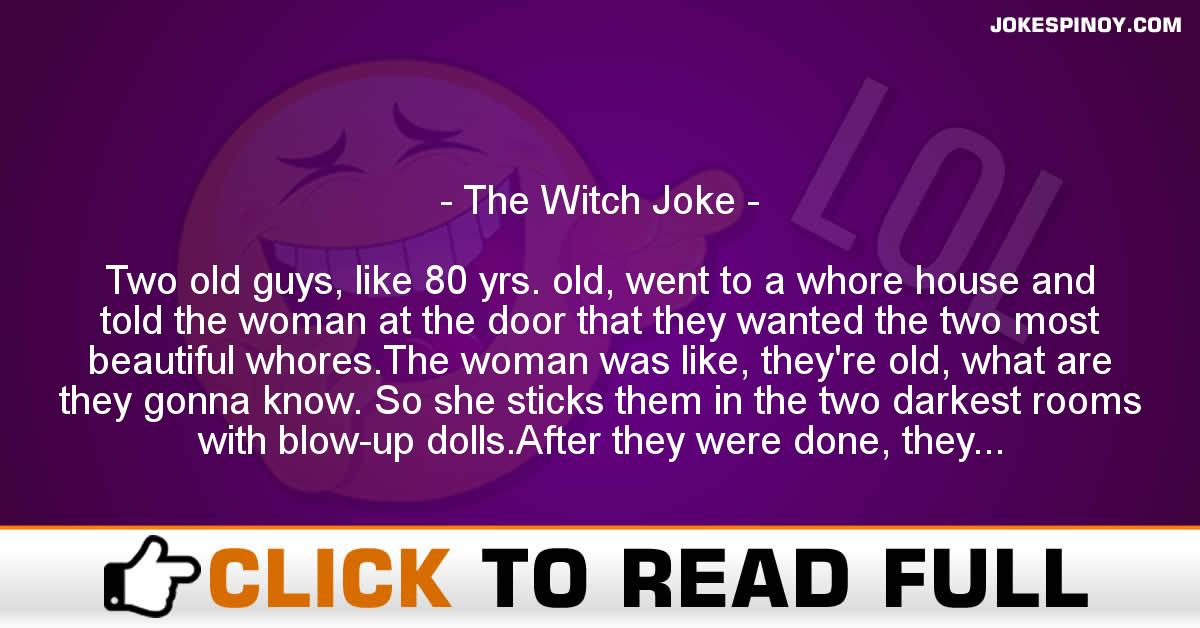 The Witch Joke