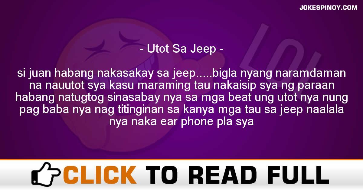 Utot Sa Jeep