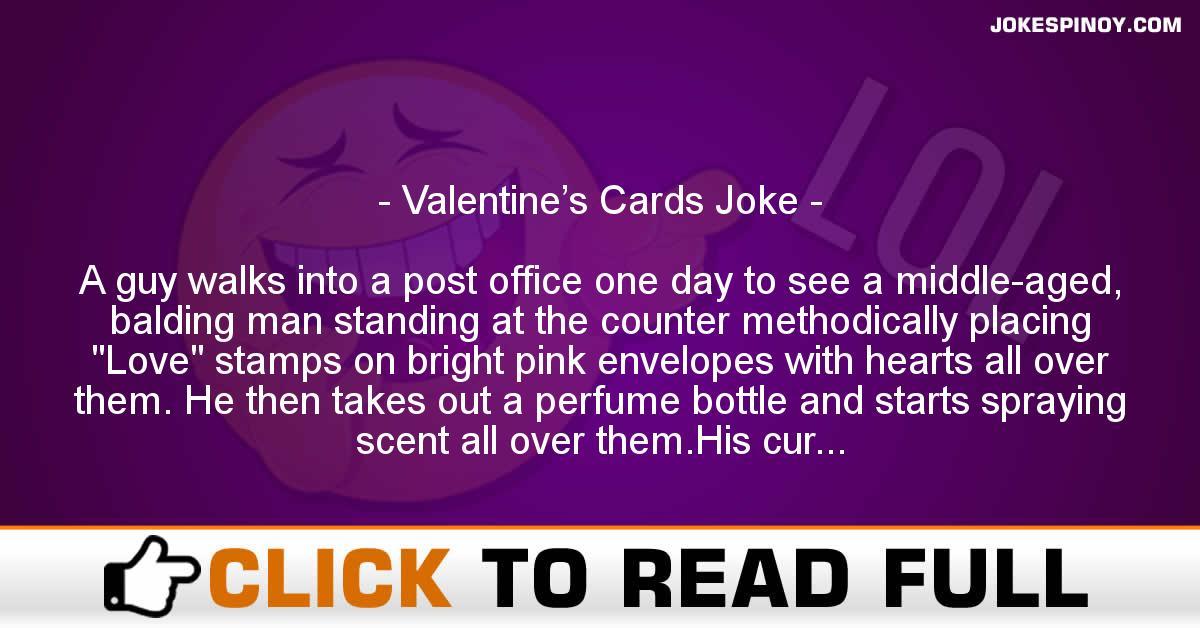 Valentine's Cards Joke