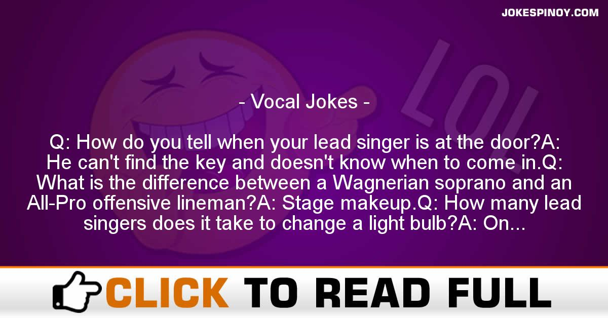 Vocal Jokes