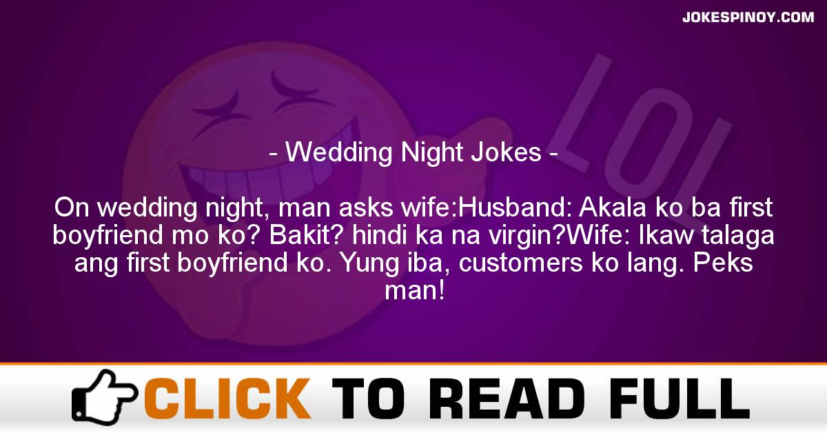 Wedding Night Jokes