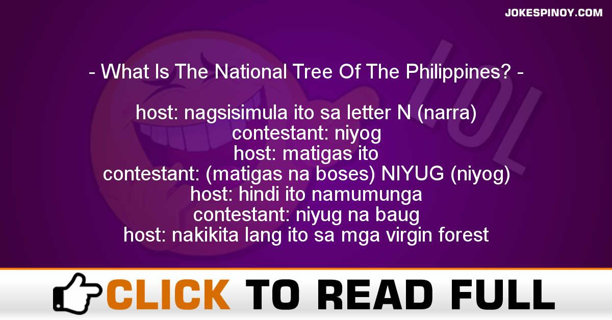 What Is The National Tree Of The Philippines?