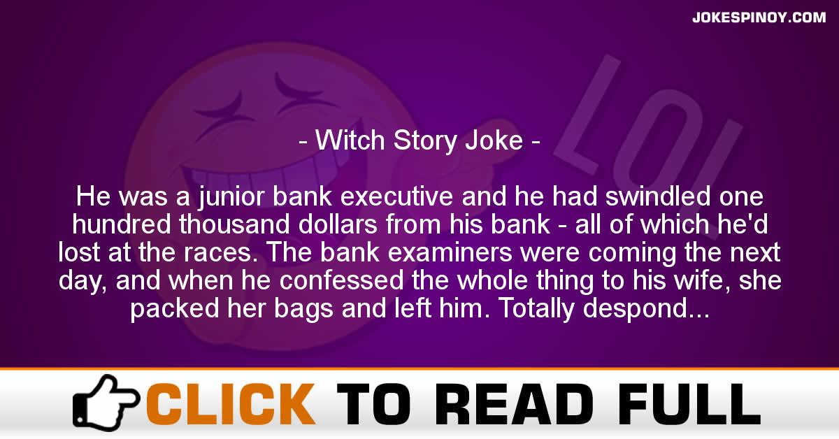 Witch Story Joke