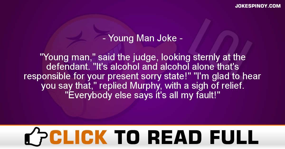 Young Man Joke