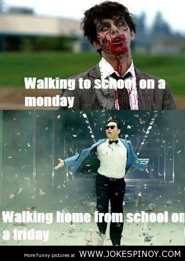 I Hate School Funny Picture