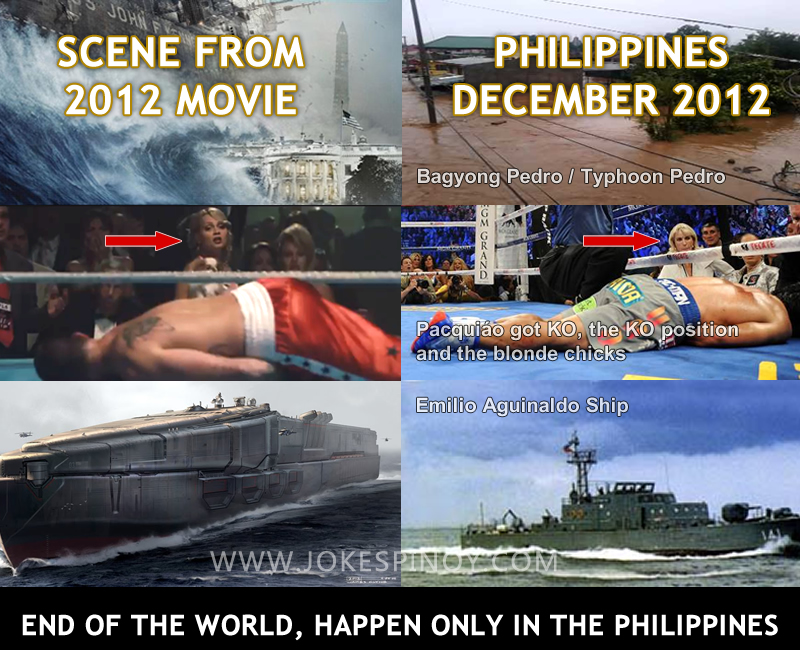 End Of The World, Only Happen In The Philippines