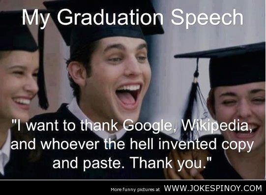 graduation speech com