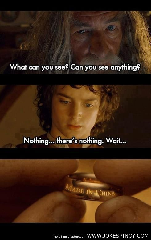 Lord of the Ring - Made in China