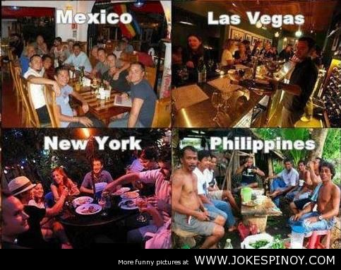 Drinking, It's More Fun In The Philippines