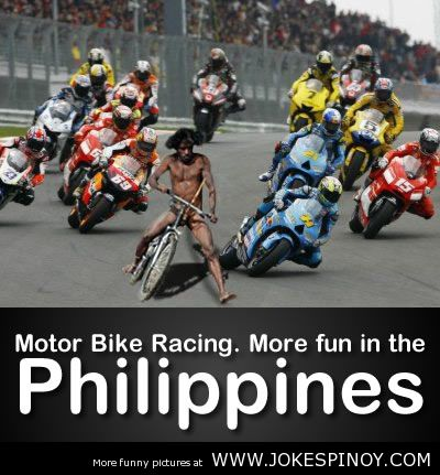 Motor Bike Racing. More Fun In The Philippines