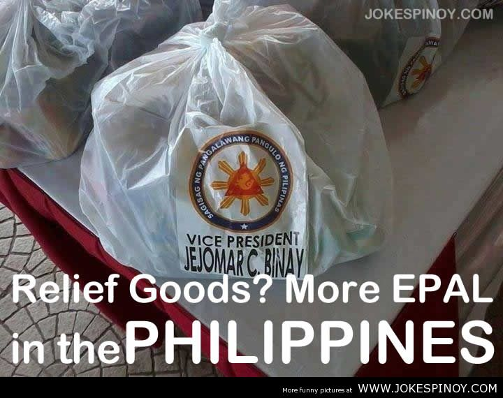 Relief Goods. More EPAL In The Philippines