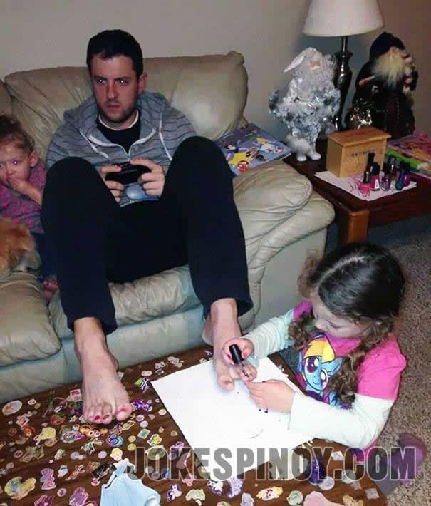 A Professional Gamer Dad