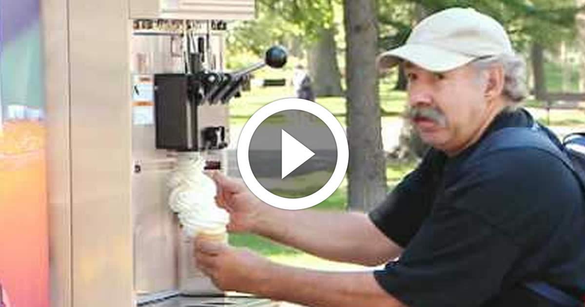 Infinite Ice Cream Funny Video