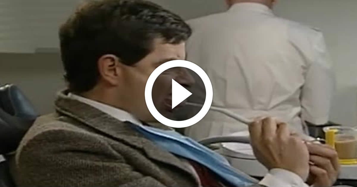 Mr Bean At The Dentist Funny Video