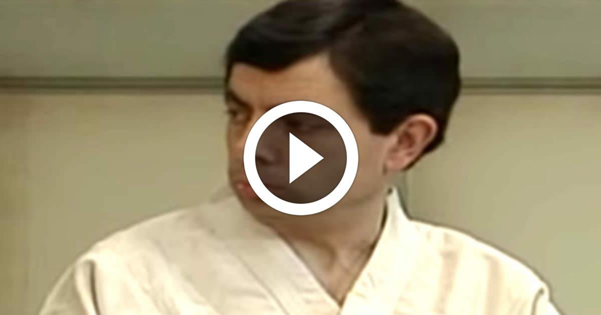 Mr Bean In Judo Cla*s Funny Video