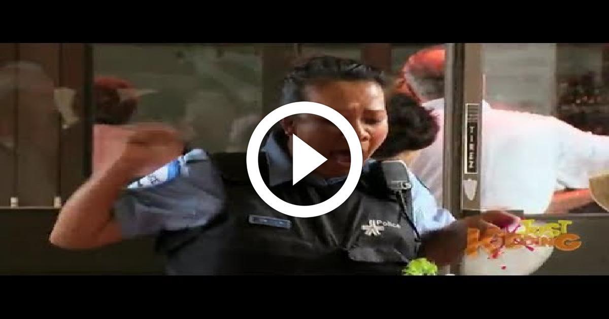 Burger Attack Funny Video