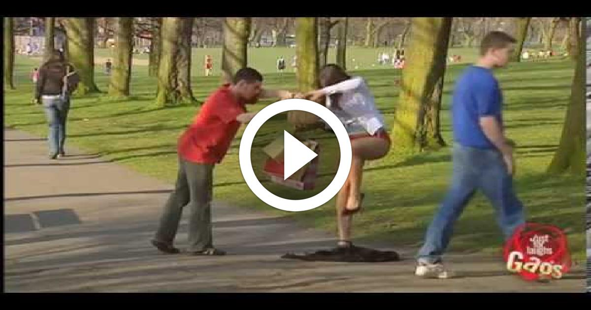Cute Girl Loses Dress Prank Funny Video