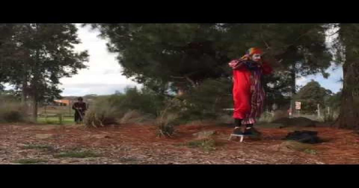 Suicidal Clown Prank Funny Video