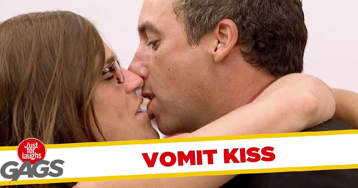 Kissing Your Girlfriend After Vomiting Funny Video