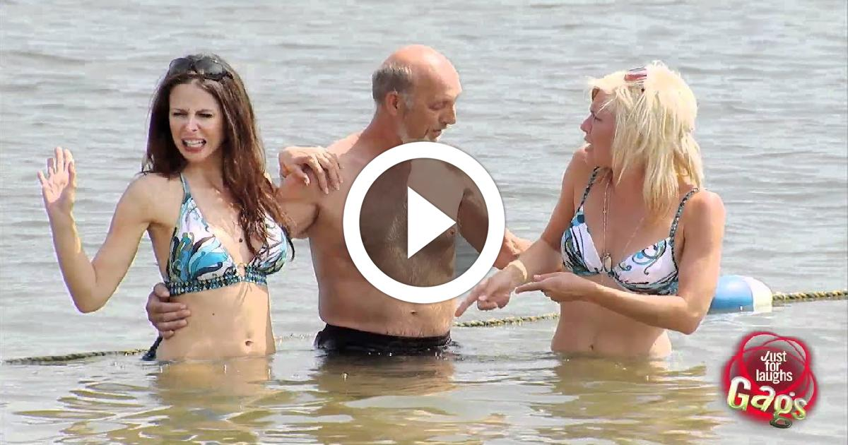 Photoshoot Fart Prank With Sexy Girls On Bikini Funny Video