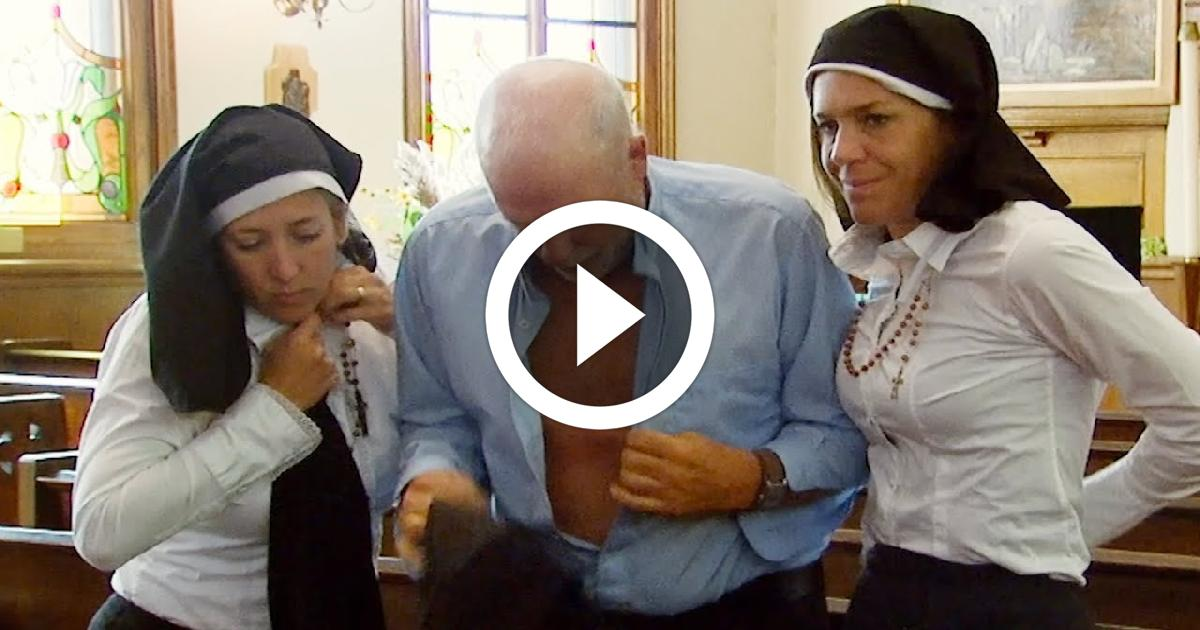 Priest And Nun Love Affair Funny Video