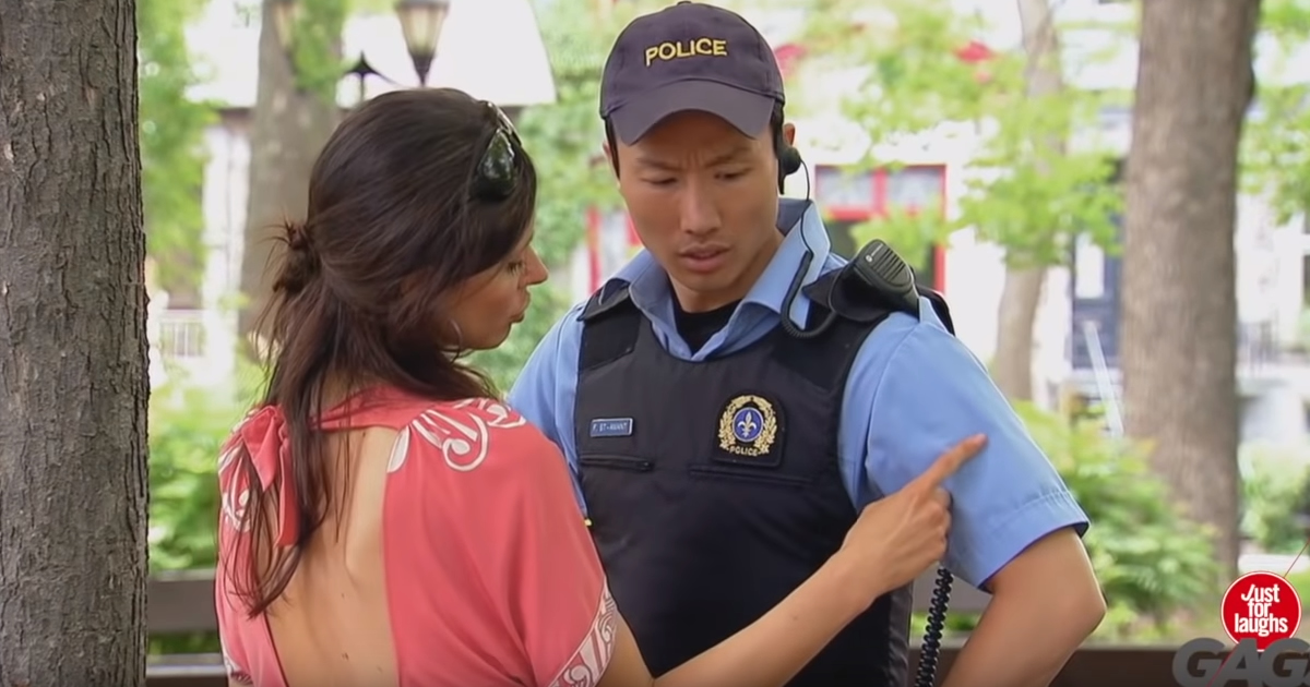 Sexy Women Seducing A Policeman Funny Video