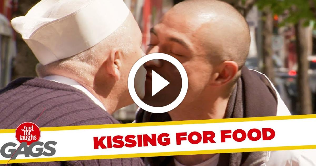 Kissing For Free Food Funny Video