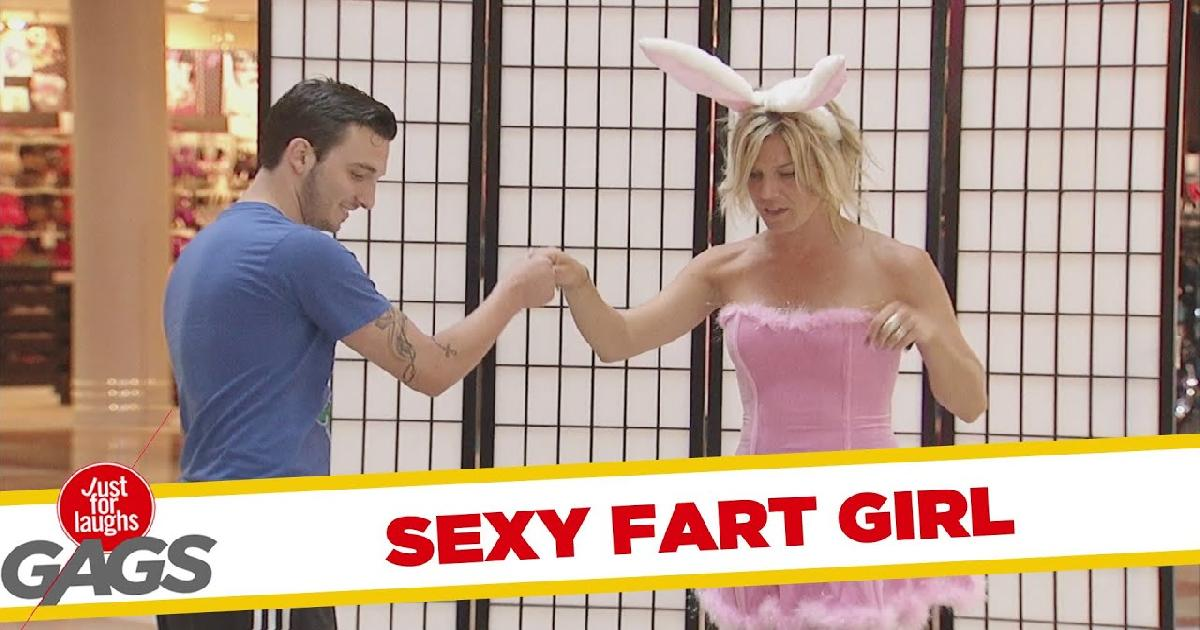 Sexy Playboy Bunny Prank Funny Video
